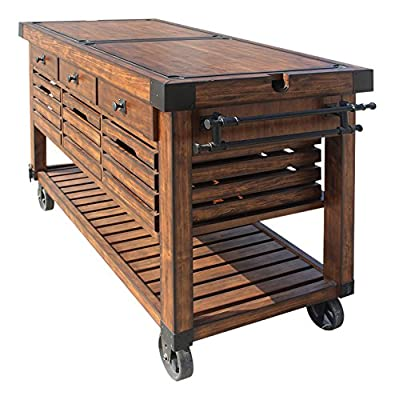 ACME Furniture Kitchen Cart, Distress Chestnut from ACME Furniture