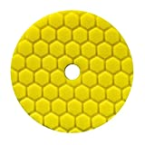 Chemical Guys hexagonale Logic Quantum Polissage Pad 16,5 cm (165 mm) Jaune Heavy Disque de Coupe