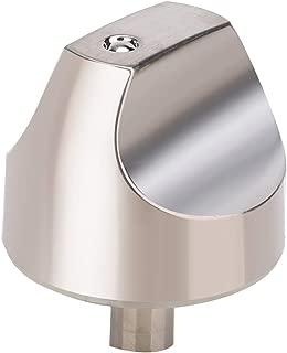 WB03X32194 WB03T10329 Cooktop Burner Knob for GE Cafe Series Gas Range. Stainless Steel Range Burner Control Knob Replace WB03T10329, WB03X25889, WB03X32194, 4920893