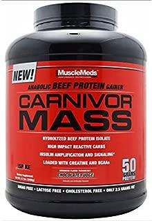 Muscle Meds Carnivor Mass 2.5kg Vanilla Caramel