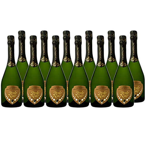 Champagne grand cru Perle Noire 2012 - Champagne Philippe De Langoz - Rebsorte Chardonnay, Pinot Noir - 12x75cl