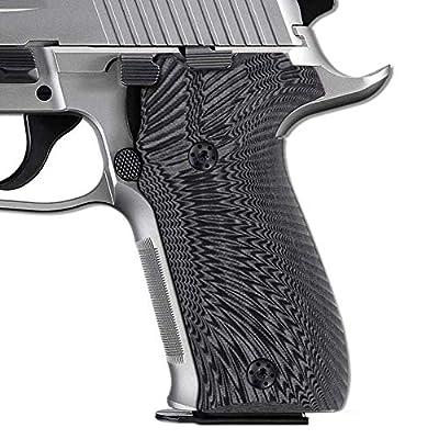 Cool Hand G10 Grips for Sig Sauer P226, Sunburst Texture, Gun Metal, 226-J6-5 by Cool Hand