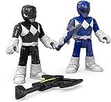 Fisher-Price Imaginext Power Rangers Blue Ranger & Black Ranger