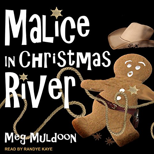 Malice in Christmas River audiobook cover art