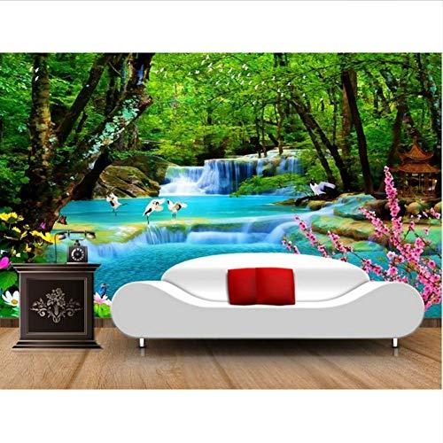 decomonkey D/éco Mural Tableaux Muraux Photo Papier peint intiss/é Mur de Pierre 350x256 cm Trompe l oeil