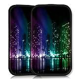 wicostar Sleeve Style Handy Tasche Hülle Schutz Hülle Schale Motiv Etui für Wiko Rainbow Jam - Sleeve UBS20 Design1