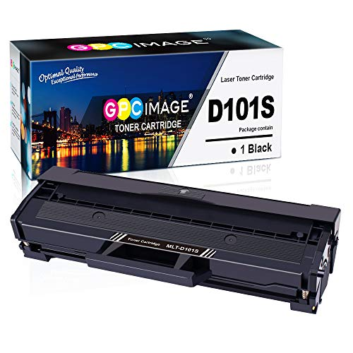 GPC Image kompatible Toner als Ersatz für Samsung MLT-D101S D101S für ML-2160 ML-2165 ML-2165W ML-2168 SCX-3405W SCX-3405F SCX-3405 SCX-3405FW SCX-3400 SF 760 SF760P(Schwarz, 1er-Pack, 1500 Seiten)