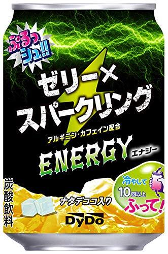 ダイドー ぷるっシュ!! ゼリー×スパークリング エナジー 缶 280g 【2ケース:合計48本】