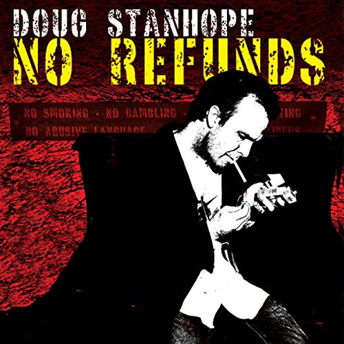 Doug Stanhope: No Refunds audiobook cover art