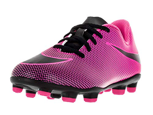 Nike Jr. Bravata II (FG) Firm-Ground Soccer Cleat Pink...