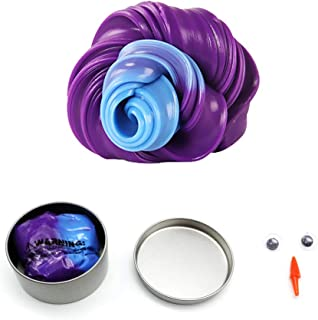 Color Changing Putty Slimes Toys, Magic Heat Reactive Color Changing Putty, Putty Color Changing Heat Sensitive, Soft Slime, Super Stress Reliever Relaxing Fun, For Kids And Adults (Purple >>> Blue)