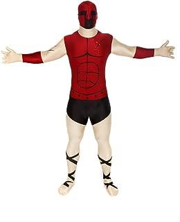 "5/"" 10-6/"" 1 176cm. Android Morphsuit Mostro Costume-TAGLIA XLARGE"