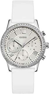 Guess Casual Watch for Women, Silicone, W1135L7
