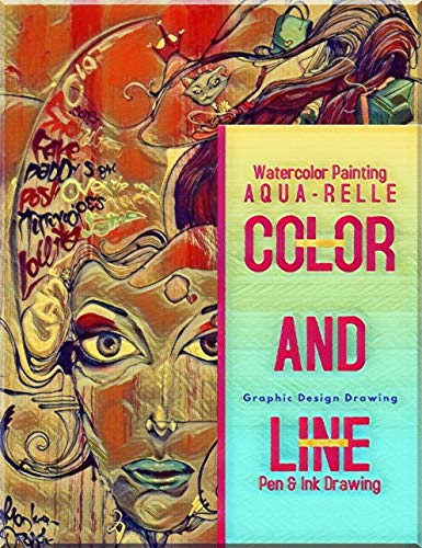 Color And Line Of Aqua-relle (English Edition)