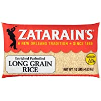 Zatarain's Extra Long Grain Parboiled Rice, 10 LB