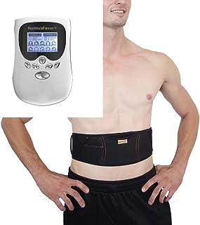 HealthmateForever 10 modos magia portátil muscular terapia máquina masajeador mejorar flujo sanguíneo y la circulación de sangre Pm10Ab blanco