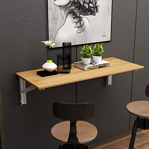 Need Wall-mounted Folding Table Drop Leaf Table, Folding Workbench 120 x 50...