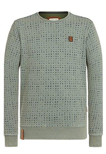 Naketano Herren Sweater Tinte Aufm Füller II Sweater
