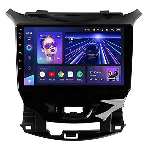 Amimilili CC3 Android 10 Radio estéreo para Coche para Chevrolet Cruze 2 2015-2020 GPS Navigator con Cámara Trasera Manos Libres Bluetooth USB Control del Volante DSP 4G Carpaly,8core 4g+wif: 3+ 32g
