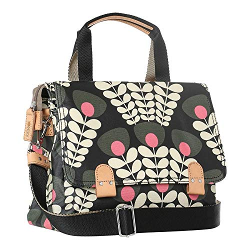 ORLA KIELY Forest Bunch Of Stems Small Zip Satchel