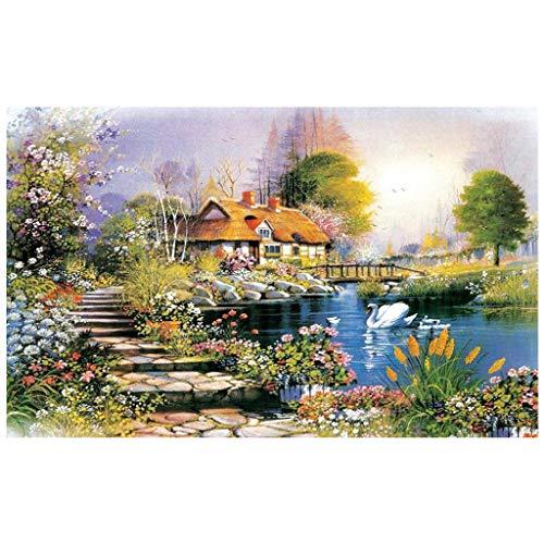qingqingR Educational 1000 Pezzi Puzzle Paese Paesaggio Regali di decompressione per Bambini
