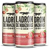 Ladrón de manzanas Cider frutos rojos pack 24 latas 33cl - 7920 ml