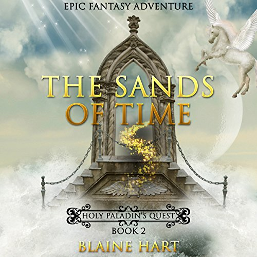 Epic Fantasy Adventure: The Sands of Time audiobook cover art