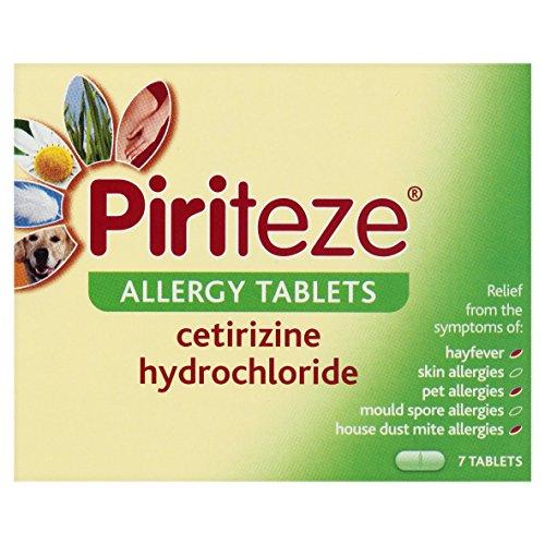 Piriteze Allergy - 7 Tablets