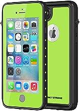 iPhone 7 Plus /8 Plus Case, ImpactStrong Waterproof Case [Fingerprint ID Compatible] Slim Full Body Protection for Apple iPhone 7 Plus and iPhone 8 Plus (5.5 inch) - Lime Green