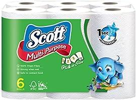 Scott Pick-A-Size Multi Purose Towels, 50ct (Pack of 6)