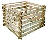 Gartenpirat Holzkomposter mit Holzstecksystem