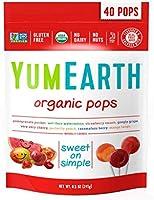 Yumearth Organic Pops 40 Lolly Tas van Yum Earth