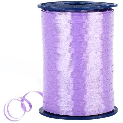 Morex Poly Crimped Curling Ribbon, 3/16-Inch by 500-Yard, Lavender