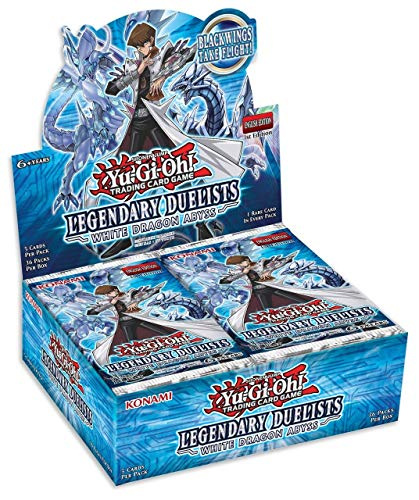 Konami Yu-Gi-Oh! Legendary Duelists: White Dragon Abyss Booster Box