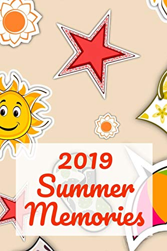 2019 Summer Memories: A Sunny Beach Day With Flip Flop And Flowers Prompt Journal for the Young Reader and Writers