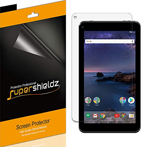 (3 Pack) Supershieldz for SmarTab 7 inch Tablet (ST7150) Screen Protector, High Definition Clear Shield (PET)