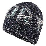Superdry - Gorro de lana para mujer, color azul, talla única