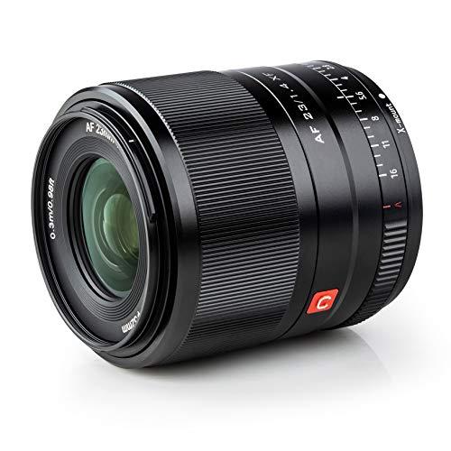 VILTROX 23mm F1.4 STM XF プライムレンズ AF 広角 単焦点レンズ 富士フイルム Fujifilm Xマウント ミラーレス用 大絞り ポートレート/スタジオ撮影/風景/建築/夜景 X20/XF/X-H1/X-M1/X-T3/X-T2/X-T30/X-T20/X-T10/X-T100/X-PRO2/X-E3/X-A20/X-A5