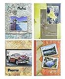 Mercatino Chic Zep Bundle 4 Album da 300 Foto Cad. - 1200 Foto 13x19 13x18 13x17 - Portafoto a Tasche con Memo