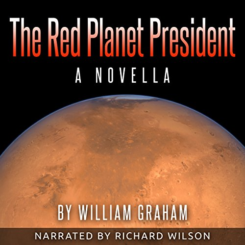 The Red Planet President audiobook cover art
