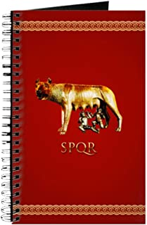 CafePress Imperial Rome Spiral Bound Journal Notebook, Personal Diary, Dot Grid