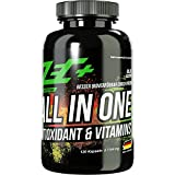 ZEC+ ALL in ONE Antioxidantien & Vitamine - 120 Kapseln, Multivitamin-Präparat mit Kombination aus...