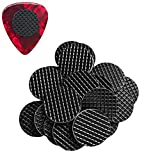 20-Pack Grips for Guitar Picks Stop Dropping your Guitar Picks while Playing Non-sticky Stays in your Hand Epic Accessories (comes with grips only)
