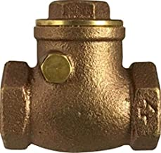 Midland 940-360 Cast Brass Swing Check Valve, Screwed End 4
