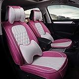 Conjunto de la cubierta de asiento de coche universal Cojines, parte posterior del frente completo juego de ropa de la cubierta del asiento para 5 asientos de vehículos adecuados para el Año Uso