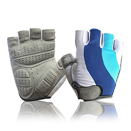 KAUTO Gloves Bike Cycling Gloves for Men Half Finger Bicycle Gloves Non-Slip 3D Gel Pad Road Mountain Bike Breathable Ladies Men's Bicycle Cycling Gloves