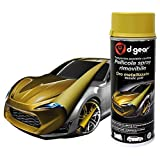 D-Gear 1250819 Spray, Oro Metallizzato