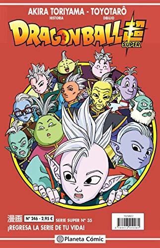 Dragon Ball Serie Roja nº 246 (Manga Shonen)