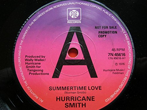 Hurricane Smith Summertime Love/And Suddenly It\'s Love 7