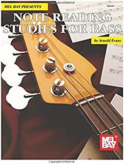 Mel Bay Note Reading Studies for Bass